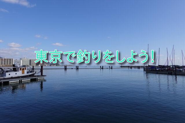 東京で釣りをしよう