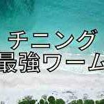 海でチニング