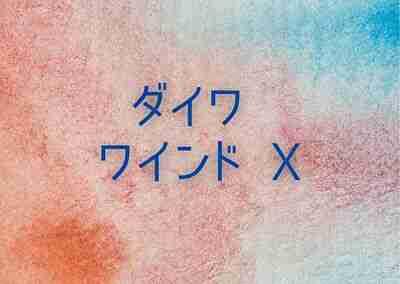 ダイワ ワインド X